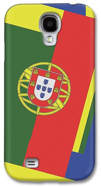 Portugal Abstract Galaxy S4 Case