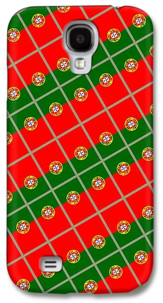Portugal Tiled Galaxy S4 Case