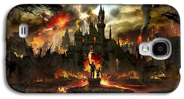 Post Apocalyptic Disneyland Galaxy S4 Case by Alex Ruiz