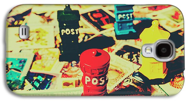 Postage Pop Art Galaxy S4 Case by Jorgo Photography - Wall Art Gallery