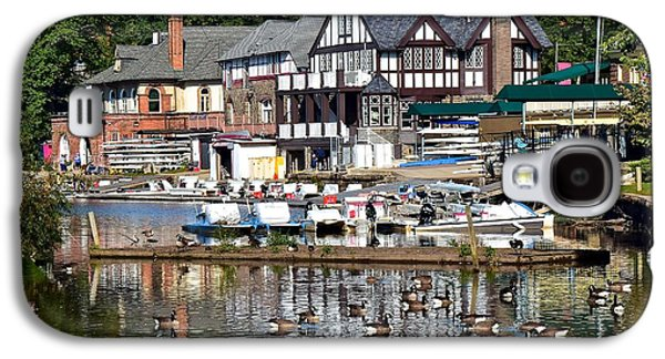Postcard Perfect Boathouse Row Galaxy S4 Case