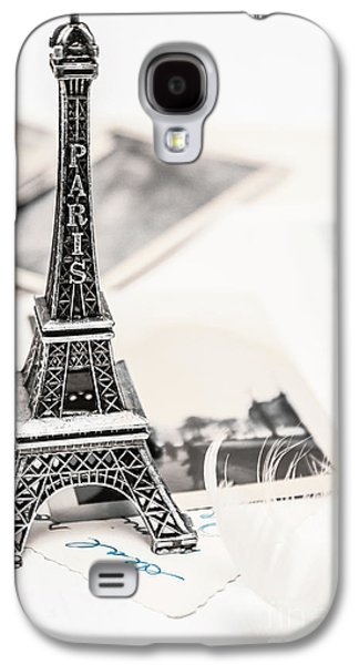 Postcards And Letters From Paris Galaxy S4 Case