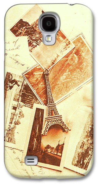 Postcards And Letters From The City Of Love Galaxy S4 Case by Jorgo Photography - Wall Art Gallery