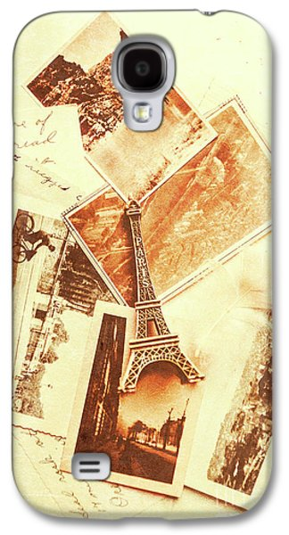 Postcards And Letters From The City Of Love Galaxy S4 Case