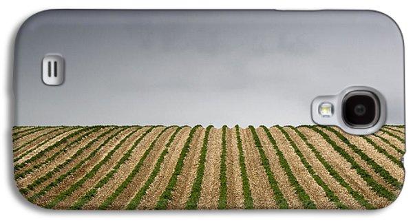 Potato Field Galaxy S4 Case by John Short