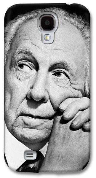 Potrait Of Frank Lloyd Wright Galaxy S4 Case