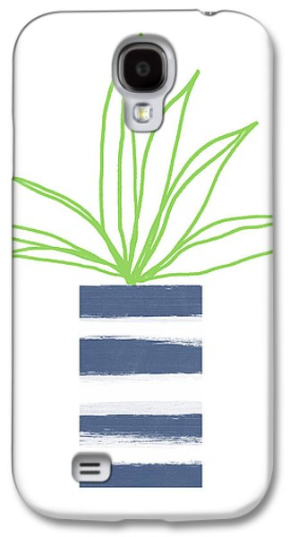 Potted Plant 2- Art By Linda Woods Galaxy S4 Case