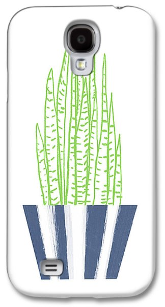 Potted Succulent 3- Art By Linda Woods Galaxy S4 Case