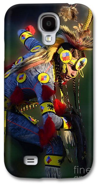 Pow Wow Beauty Of The Past 7 Galaxy S4 Case by Bob Christopher