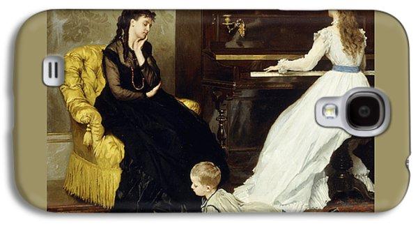 Practicing Galaxy S4 Case by Gustave Leonard de Jonghe