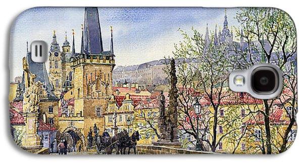 Prague Charles Bridge Spring Galaxy S4 Case