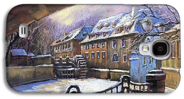Prague Chertovka Winter 01 Galaxy S4 Case