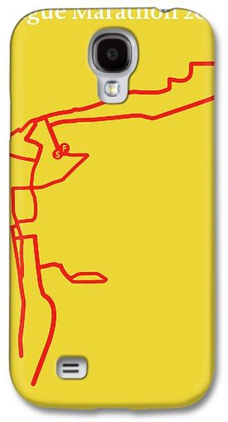 Prague Marathon Line Galaxy S4 Case