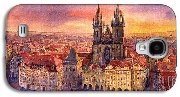 Town Galaxy S4 Case - Prague Old Town Square 02 by Yuriy Shevchuk