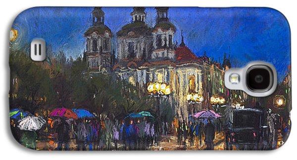 Prague Old Town Square St Nikolas Ch Galaxy S4 Case by Yuriy  Shevchuk