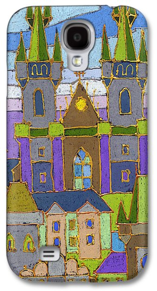 Prague Panorama Galaxy S4 Case by Yuriy  Shevchuk
