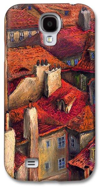 Prague Roofs Galaxy S4 Case by Yuriy  Shevchuk