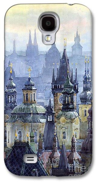 City Scenes Galaxy S4 Case - Prague Towers by Yuriy Shevchuk