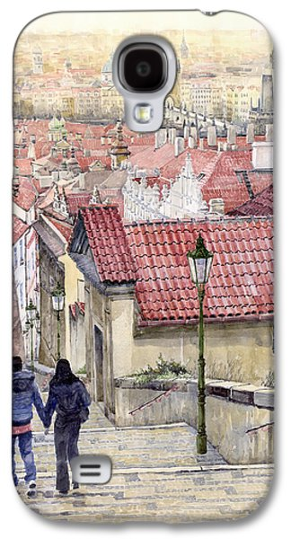 Prague Zamecky Schody Castle Steps Galaxy S4 Case