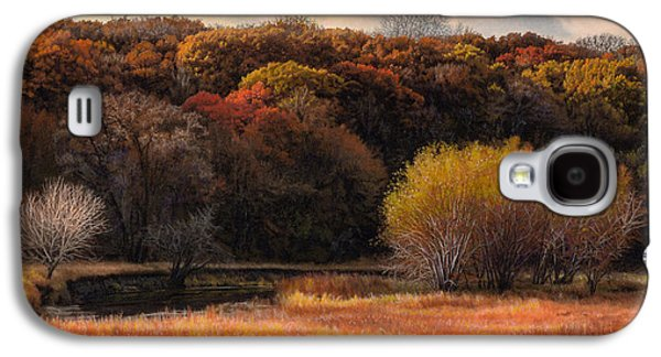 Prairie Autumn Stream Galaxy S4 Case by Bruce Morrison
