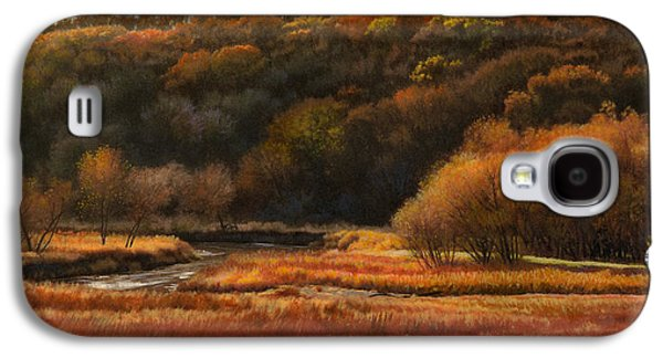 Prairie Autumn Stream No.2 Galaxy S4 Case by Bruce Morrison