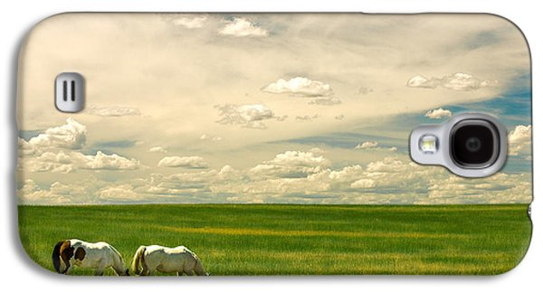 Prairie Horses Galaxy S4 Case by Todd Klassy