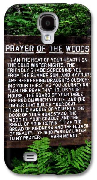 Prayer Of The Woods Galaxy S4 Case