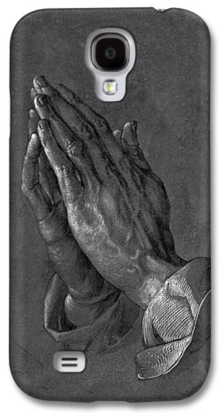 Praying Hands 1508 Galaxy S4 Case by Movie Poster Prints