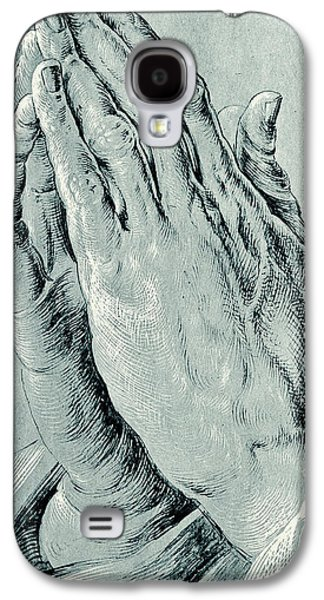 Praying Hands, Also Known As Study Of The Hands Of An Apostle  Galaxy S4 Case