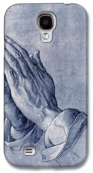 Praying Hands, Art By Durer Galaxy S4 Case by Sheila Terry