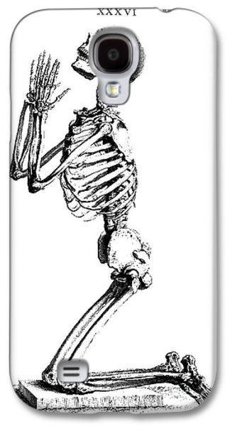Praying Skeleton Galaxy S4 Case