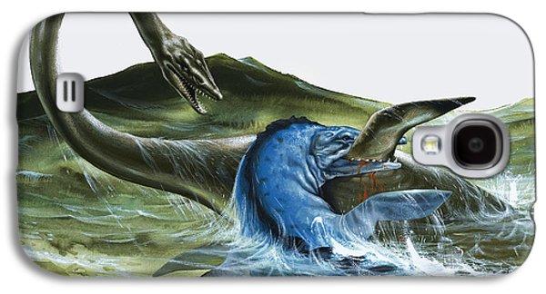 Prehistoric Creatures Galaxy S4 Case by David Nockels