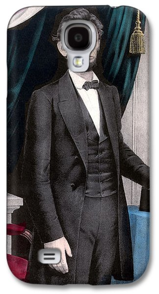 President Abraham Lincoln In Color Galaxy S4 Case