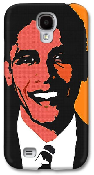President Barack Obama 2 Galaxy S4 Case by Otis Porritt