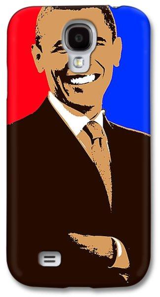 President Barack Obama 3 Galaxy S4 Case by Otis Porritt
