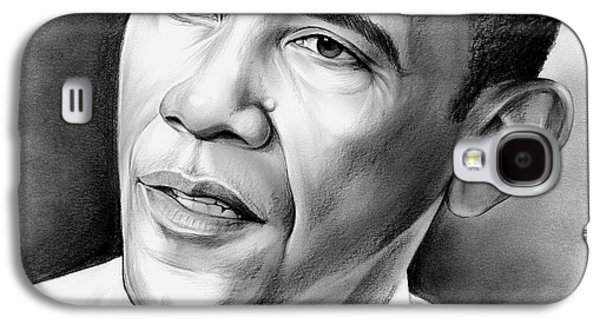 President Barack Obama Galaxy S4 Case by Greg Joens