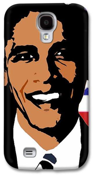 President Barack Obama Galaxy S4 Case by Otis Porritt