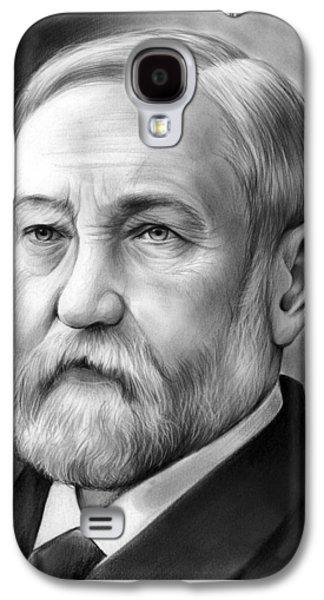 President Benjamin Harrison Galaxy S4 Case by Greg Joens