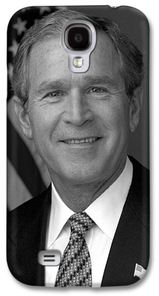 President George W. Bush Galaxy S4 Case by War Is Hell Store