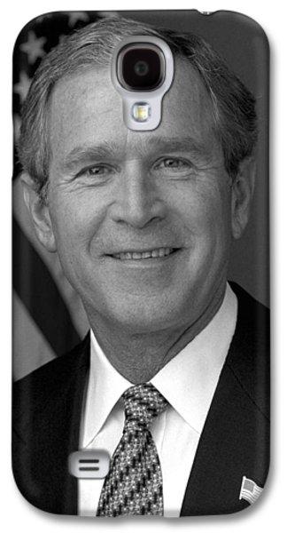 President George W. Bush Galaxy S4 Case by War Is Hell Store