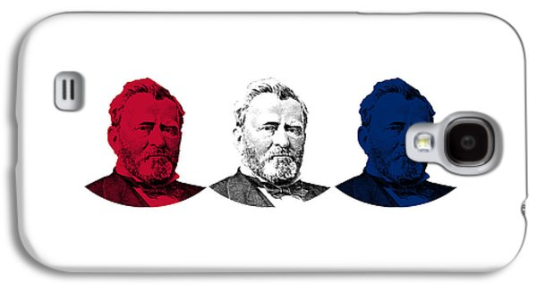 President Grant Red White And Blue Galaxy S4 Case