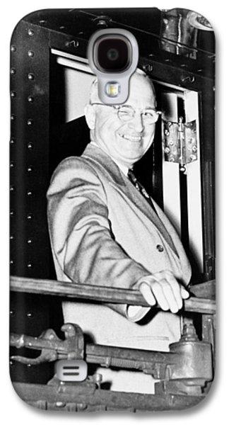 President Harry Truman Galaxy S4 Case