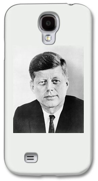 President John F. Kennedy Galaxy S4 Case by War Is Hell Store