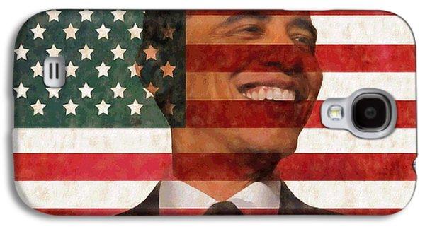 President Obama Hope Galaxy S4 Case