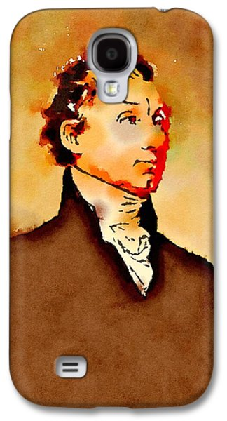 President Of The United States Of America James Monroe Galaxy S4 Case by John Springfield
