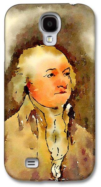President Of The United States Of America John Adams Galaxy S4 Case by John Springfield