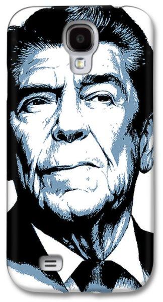 President Reagan Galaxy S4 Case by Greg Joens