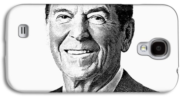 President Ronald Reagan Graphic Galaxy S4 Case