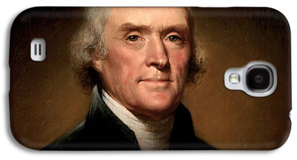 President Thomas Jefferson  Galaxy S4 Case
