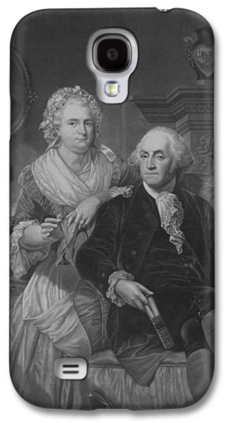 President Washington At Home Galaxy S4 Case by War Is Hell Store